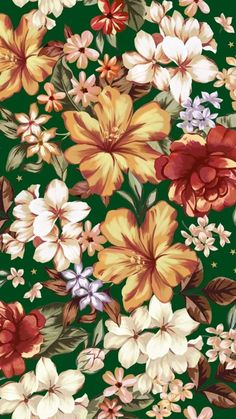 Wallpaper Pattern Victorian Wall Papers Ideas For 2019 Pink Wallpaper Iphone, Trendy Wallpaper, Love Wallpaper, Pattern Wallpaper, Wallpaper Backgrounds, Motifs Textiles, Tropical Pattern, Botanical Flowers, Arte Floral