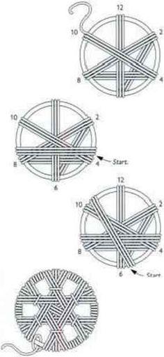 Brass Rings For Dorset Buttons