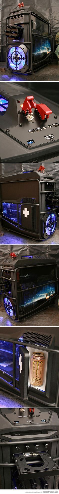 Cool custom PC case.                                                                                                                                                     More
