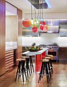32 Kitchens with Vivid Pops of Red