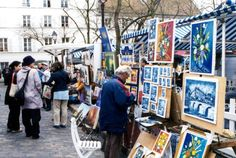 Montmartre, as well as the Latin Quarter, were known for being the Bohemian areas of Paris.