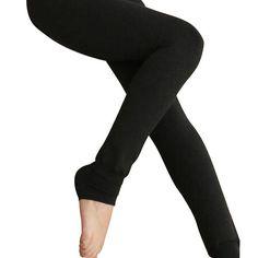 8 Colors S-XL Winter Plus Cashmere Leggings Woman Casual Warm Plus Knitted Thick Slim Super Leggings