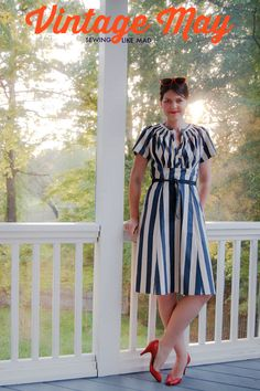 Sewing Like Mad: Vintage May 2014