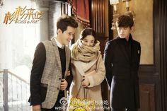 Love this scene from Boss & Me. Zhao Li Ying, Boss Me, Thai Drama, Handsome Actors, Kdrama, Tv Series, Chinese, Japan, Guys