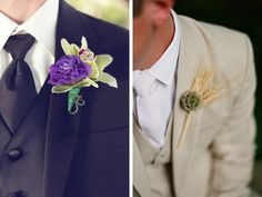 Boutonnieres, #nashvillewedding, grooms, @Caprice Palmer | The Enchanted Florist