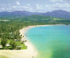 El Yunque & Playa Luquillo | One of the most beautiful beaches in Puerto Rico.