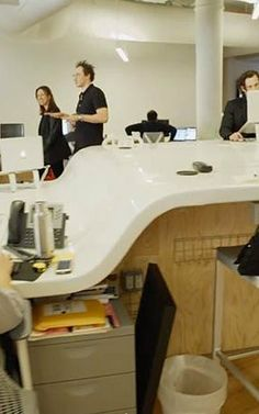 This 4,400-Square-Foot Desk Creates Hiding Holes For An Escape Within The Office