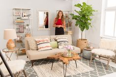 Celebrity interior designer and television host Genevieve Gorder shares tips on living the big life of your dreams—even within the confines of a small space. www.worldmarket.com #WorldMarket #FallHomeRefresh