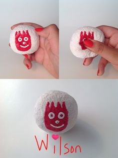 Tom Hanks' only friend, Wilson, has come to me in squishy form! Homemade Squishies, Tom Hanks, Diys, Crafts, Manualidades, Bricolage, Do It Yourself, Handmade Crafts, Arts And Crafts