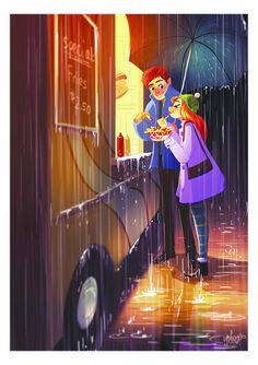 An Artist Shows What Love Looks Like The True by Art Yaoyao Ma Van As, a Los Angeles-based illustrator and artist, draws on her personal life, so her Love Cartoon Couple, Cute Couple Art, Art And Illustration, Couple Drawings, Art Drawings, True Art, Couples In Love, Cartoon Art, Anime Love