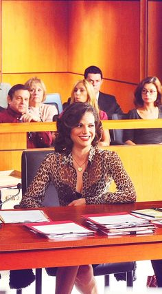Lana Parrilla as Betty Johnson in The Defenders.
