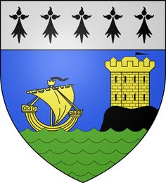 St Servan sur Mer: Brittany France Coat of Arms