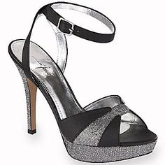 b4eb481909ae Jacqueline Ferrar® Claire Glitter Heels - jcpenney Sell Shoes