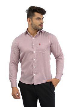 Camisa Social Masculina Listrada Escura