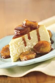 Chiquita Bananas Foster Cheesecake Topping Receipe - Reminds me of my 21st birthday :)