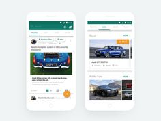 Blinnker Android - Social network designed by Michal Sleziak for GoodRequest. Connect with them on Dribbble; Design Social, Ux Design, Android, Audi Q7, Mobile Application Development, Social Media Banner, Getting Bored, Mobile Ui, Material Design