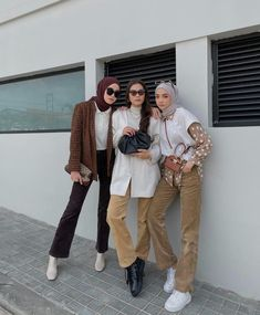 Hijab Casual, Ootd Hijab, Hijab Outfit, Muslim Fashion, Modest Fashion, Hijab Fashion, Fashion Outfits, Modest Outfits, Stylish Outfits