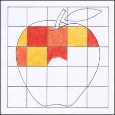 Kostkované ovoce, zelenina Back To School Art, Art School, Color Art Lessons, Elementary Art, Art Projects, Crafts For Kids, Activities, Mosaics, Artists