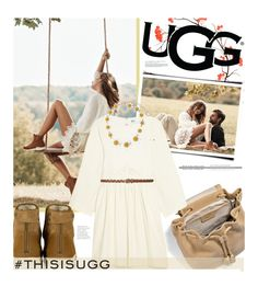 """""""Play With Prints In UGG: Contest Entry"""" by edenslove ❤ liked on Polyvore featuring UGG Australia, Dolce&Gabbana, M&Co and thisisugg"""