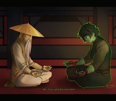 Erraday - Ninjago master Wu and Cole