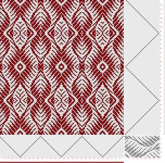 draft image: Threading Draft from Divisional Profile, Tieup: Classical Collection 6, Draft #8072, 20S, 32T Weaving Art, Weaving Patterns, Loom Weaving, Textile Patterns, Hand Weaving, Knitting Charts, Knitting Patterns, Textiles, Celtic Cross Stitch