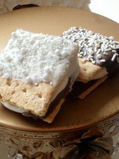 edible wedding favors | Edible wedding Favor Marshmallow Smore ... | My Sweetest Day Wedding
