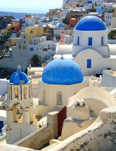 Santorini | Greece (by cristianphoto123)(Source: travelingcolors)