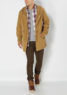 Tan Hooded Anorak | rue21