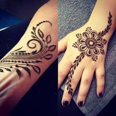 Mehndi design is extremely very famous for every occasion. Everyone can find best mehndi design for any festival. Simple and Easy Mehndi Designs Images. Henna Hand Designs, Simple Arabic Mehndi Designs, Mehndi Designs 2018, Mehndi Design Images, Beautiful Henna Designs, Simple Henna, Mehndi Designs For Hands, Henna Tattoo Designs, Bridal Mehndi Designs