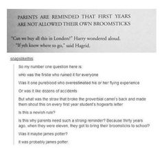 It was probably James Potter...