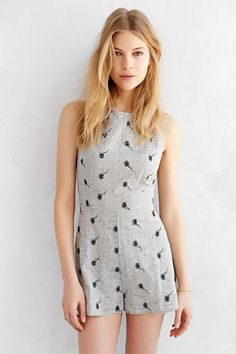 Cooperative Honey Romper - Urban Outfitters