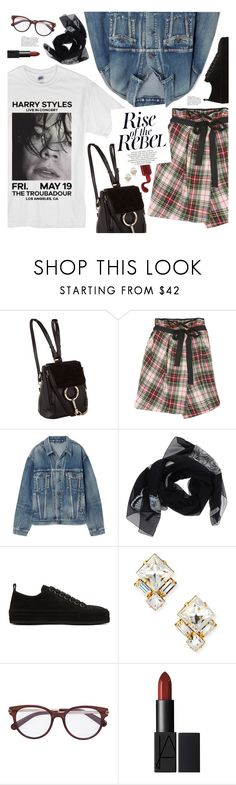"""rise of the rebel"" by valentino-lover ❤ liked on Polyvore featuring Sonia Rykiel, Balenciaga, Alexander McQueen, Ann Demeulemeester, Auden and Neutrogena"