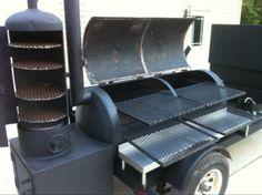 reverse flow smoker - Google Search
