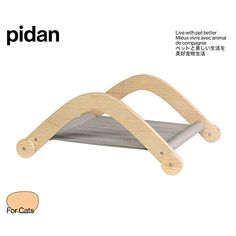 Pidan Cat Beds for Indoor Cats Hammock Bed Wooden Cotton Padding Soft Best Suggestion Online Pet Retail Products - Dogs , Cats, Birds, Fish, Horses Horse Bedding, Hammock Bed, Cat Towers, Cat Playground, Cat Condo, Pet Furniture, Cotton Pads, Diy Stuffed Animals, Dog Houses