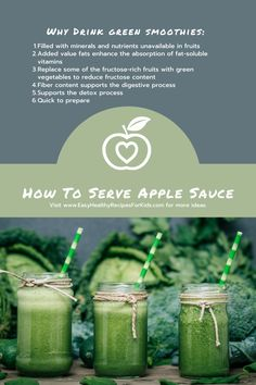 #greensmoothies #foodtogrow #healthyeating Healthy Meals For Kids, Easy Healthy Recipes, Kids Meals, Healthy Eating, Digestion Process, Smoothies, Detox, Vitamins, Treats
