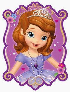 caricatura princesita sofía | Vejam: Kit Festa Princesa Sofia Para Imprimir Grátis