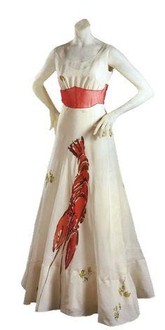 Elsa Schiaparelli and Dalí's: Lobster Dress | studio t