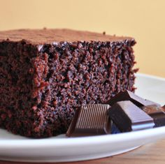 The Perfect Chocolate Cake for High Altitude Baking. (Tried and true It didn't fall at 5300' elevation! -CC)