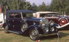 1931 Cadillac V8 convertible sedan by carphoto, via Flickr