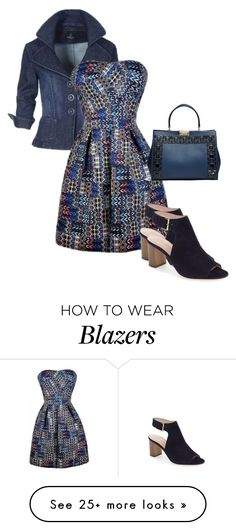 """Fire Works"" by dolenka on Polyvore featuring Kate Spade"