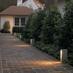Monostep 26 T50 outdoor floor lamp by Delta Light #Modern #Lighting #outdoorlighting #floorlamp