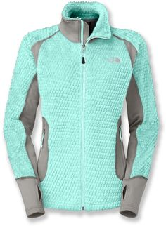 When the temps drop, the Women's North Face Grizzly Pack Jacket is a great way to stay warm pre-run and post-run.