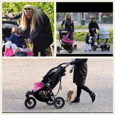 Al parco con Sole e Celeste in carrozza #Babyjogger