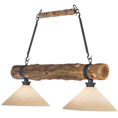 Rustic Chandeliers: Roy Nicholson Cedar Log Billiard/Dining Light|Black Forest Decor
