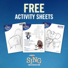 Sing Movie Printable