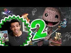 Little Big Planet 2 - Unboxing e vídeo comentado