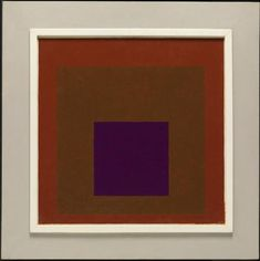 """topcat77: """" Josef Albers 'Homage to the Square: Study for Nocturne', 1951 """""""