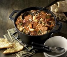 Recipes:Braised Italian Sausage Stew