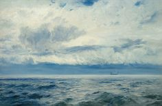 Storm Brewing by Henry Moore Oil on Canvas