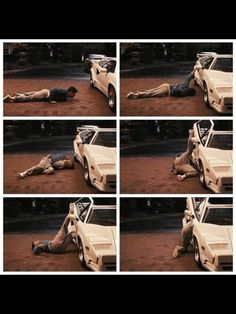 The Wolf Of Wall Street - Leonardo DiCaprio. Oh, the true pain and challenge of this scene.